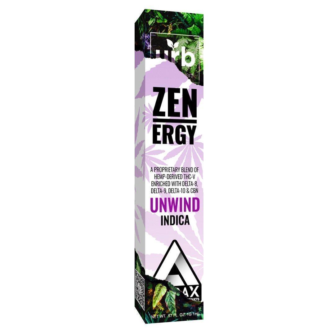 Effex Zen Ergy Unwind Indica D8/D10 & THC-V