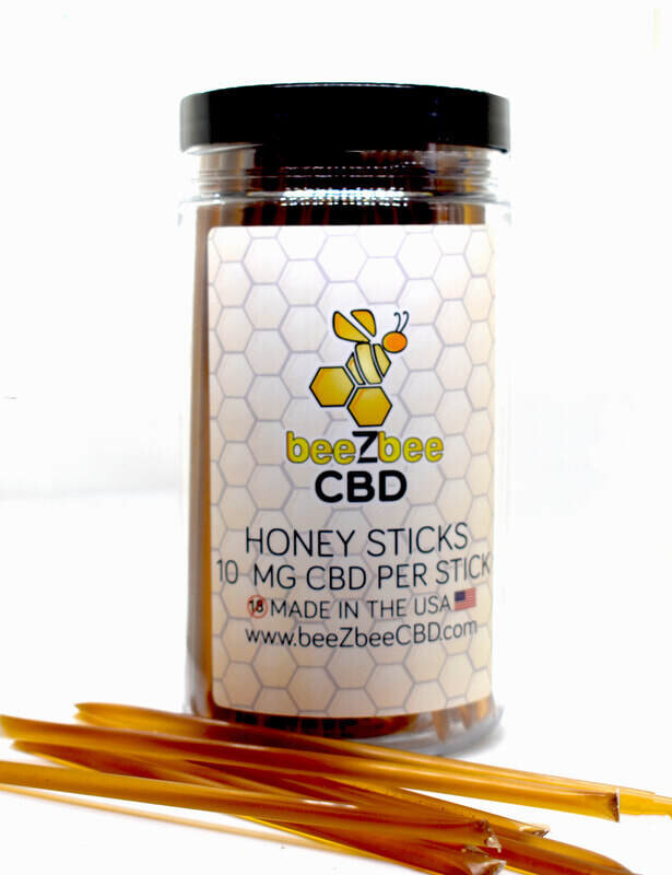 Beezbee Honey Sticks 15mg CBD