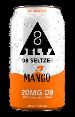 D8 Seltzer Mango 12Fl Oz 20mg