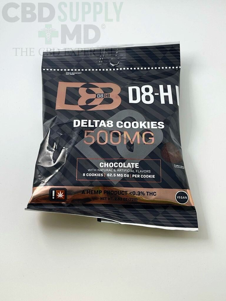 D8-HI Cookie 500mg Chocolate