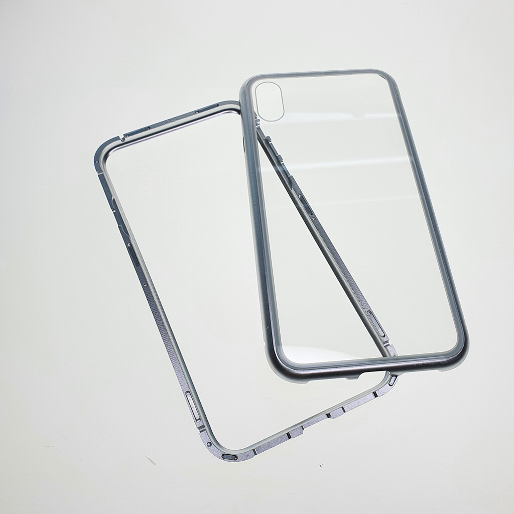 Estuche EL REY Magnetico Gris Iphone Xs Max-