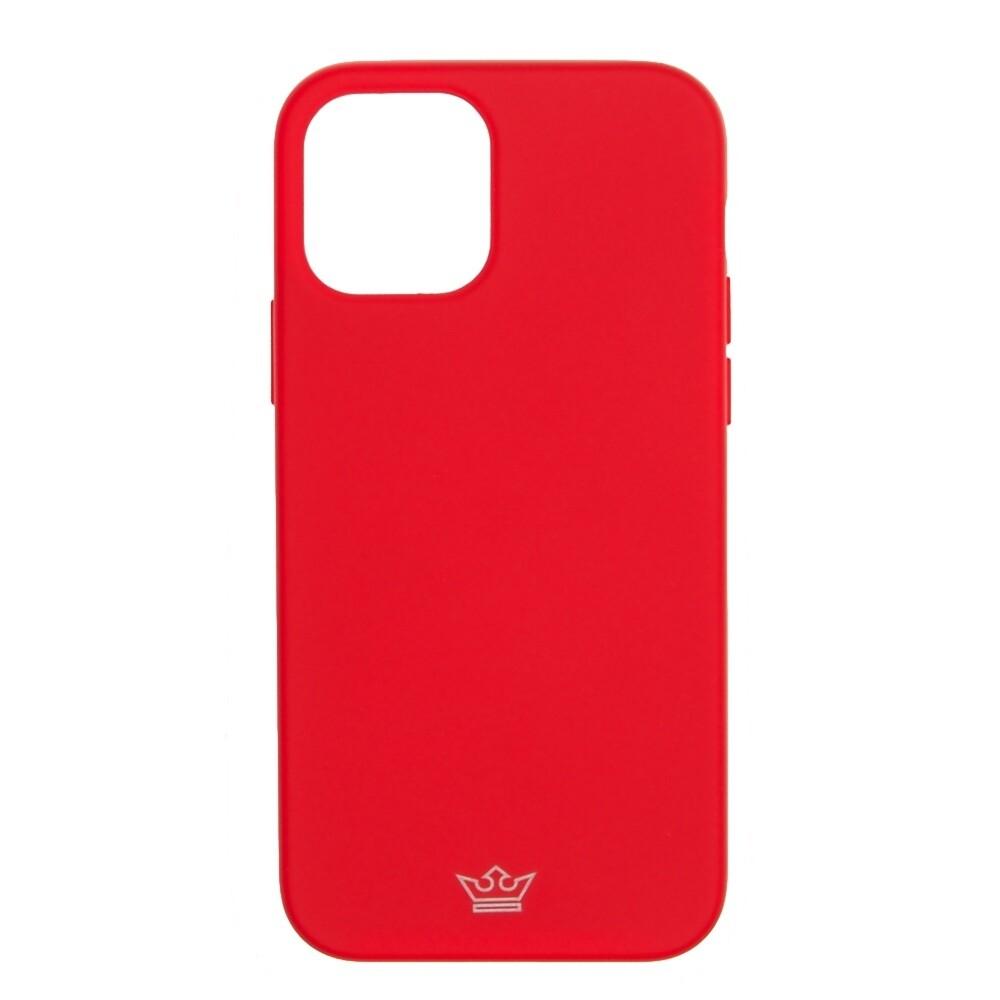 Estuche EL REY Silicon  Rojo - IPHONE 12 PRO MAX 6.7