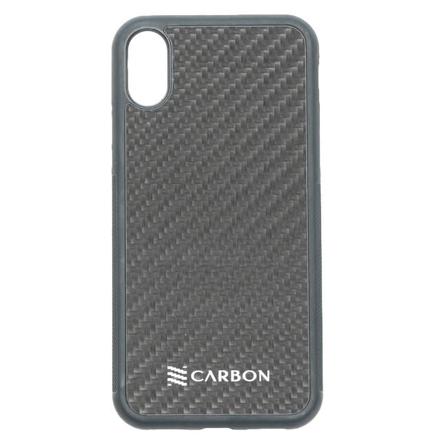 Estuche  Fibra De Carbon Real Negro - IPHONE XS MAX (6.5)