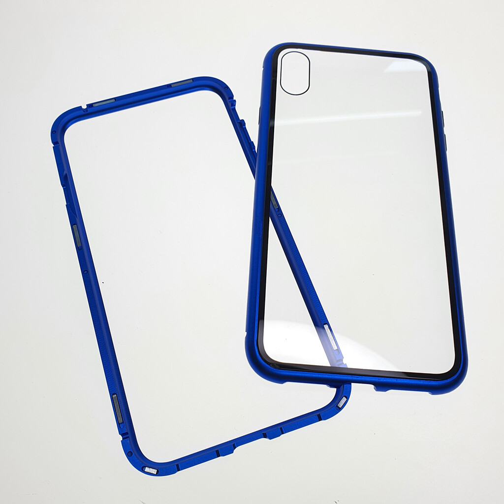Estuche EL REY Magnetico Azul Iphone X - Xs-