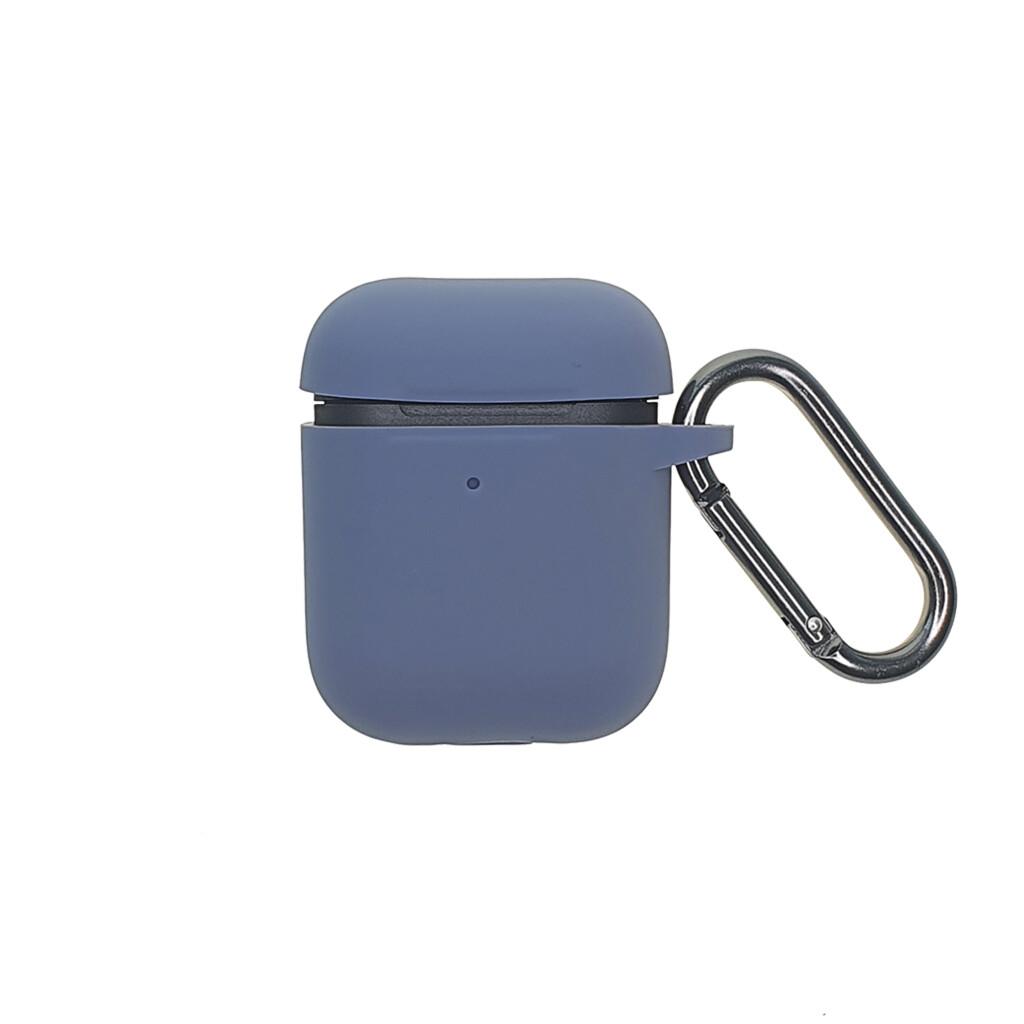 Estuche EL REY Silicon Grueso Para Airpods 1/2 Lavender-