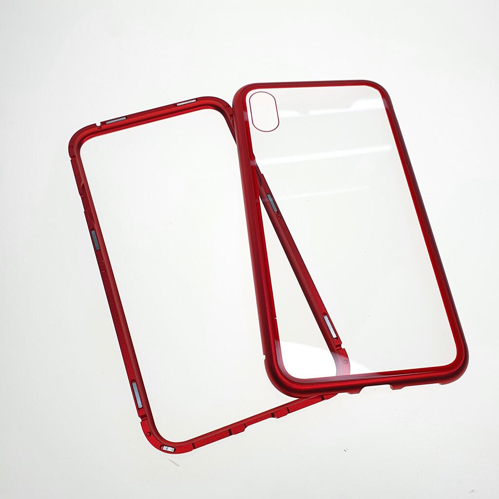 Estuche EL REY Magnetico Rojo Iphone Xs Max-
