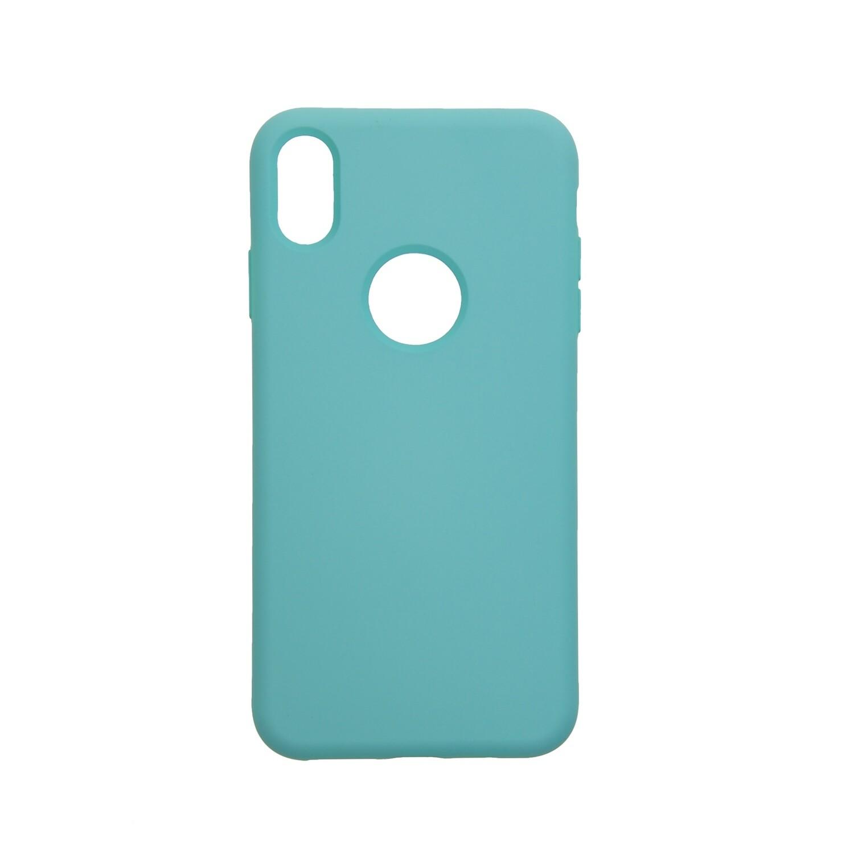 Estuche EL REY Silicon Menta - Iphone Xs