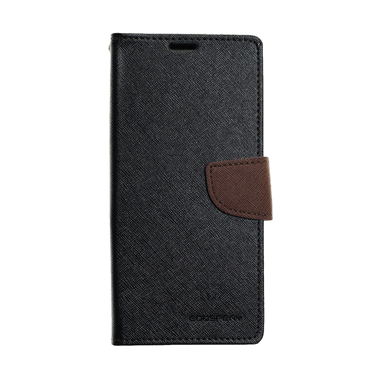 Estuche GOOSPERY Fancy Diary Negro/Cafe SAMSUNG S9