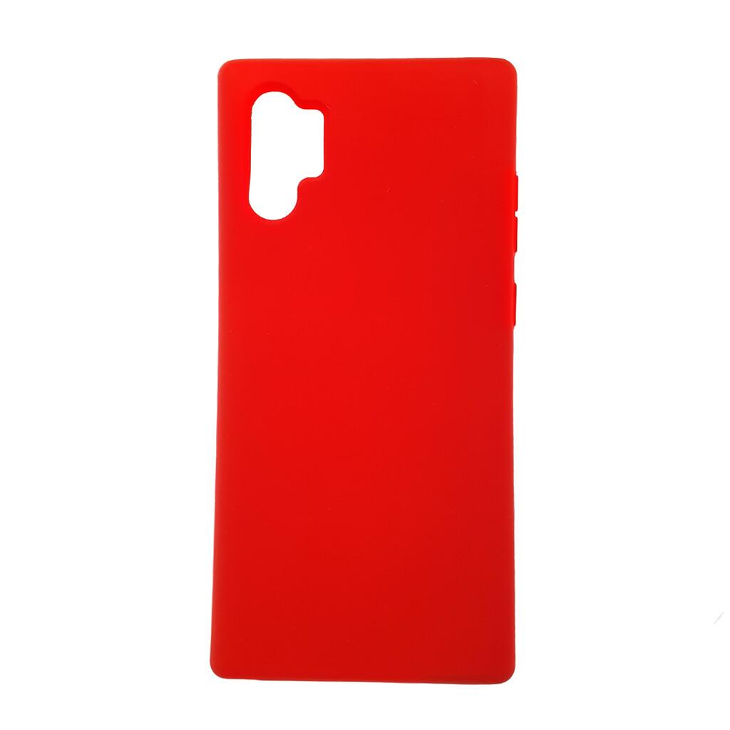 Estuche EL REY Silicon Rojo - Note 10 Plus