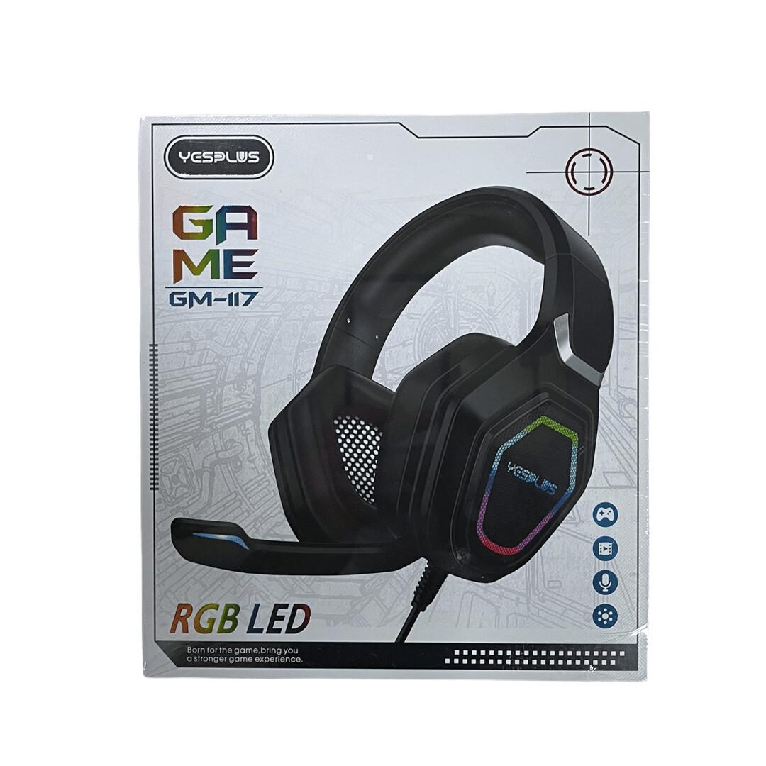 Audifonos YESPLUS Gaming Stereo headset Light /  GM-117