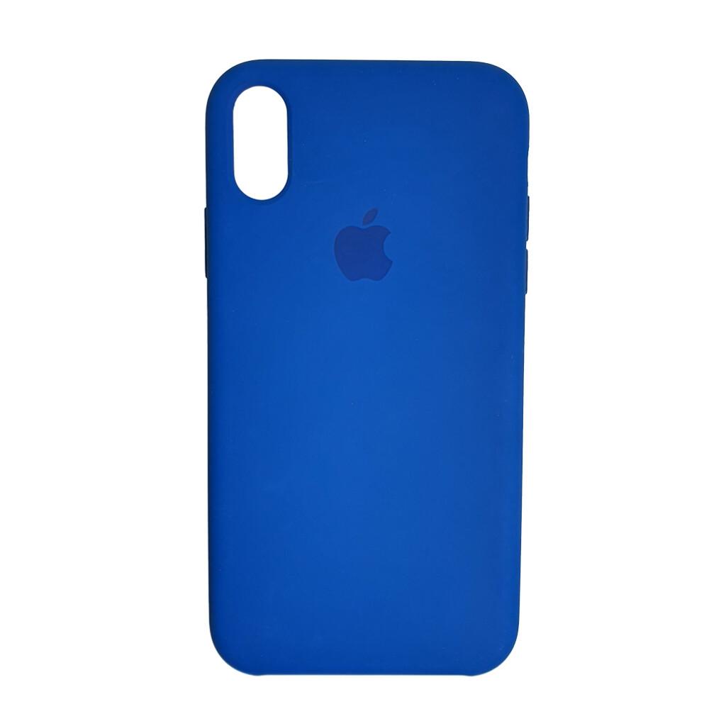 Estuche EL REY Silicon Duro Ocean Blue - Iphone Xs Max