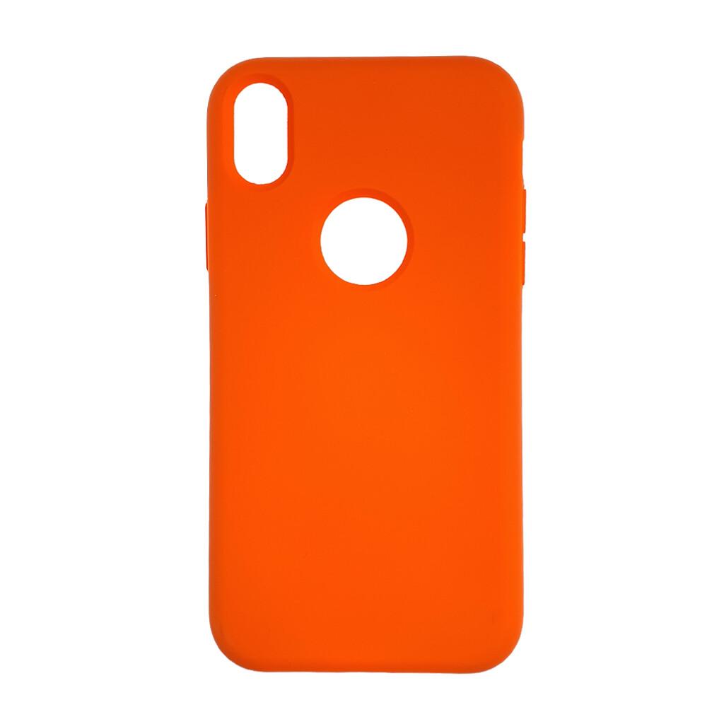 Estuche EL REY Silicon Naranja Iphone Xr