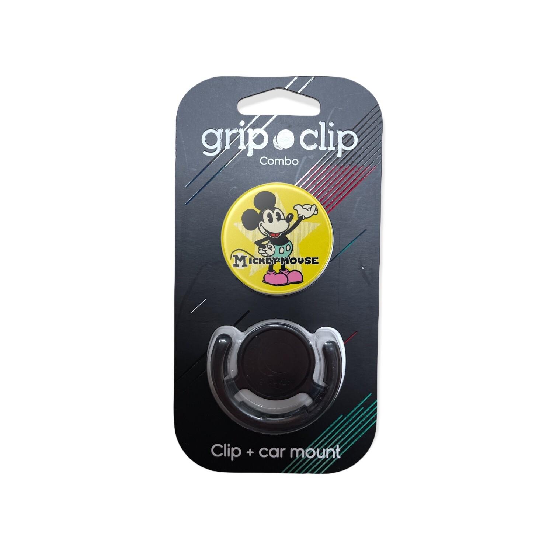 GRIP CLIP Mickey con fondo amarillo