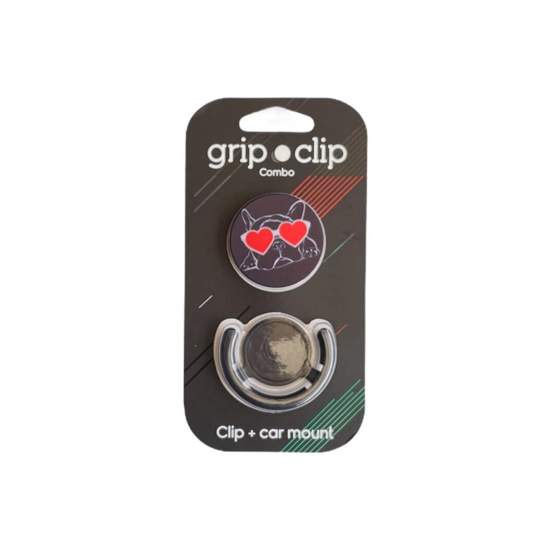 GRIP CLIP Perro con - lentes