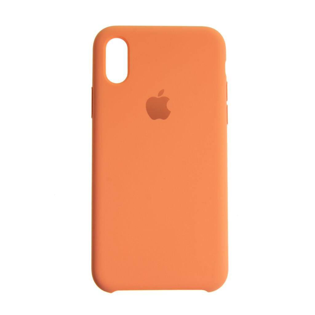 Estuche EL REY Silicon Duro  Papaya -  Iphone Xs