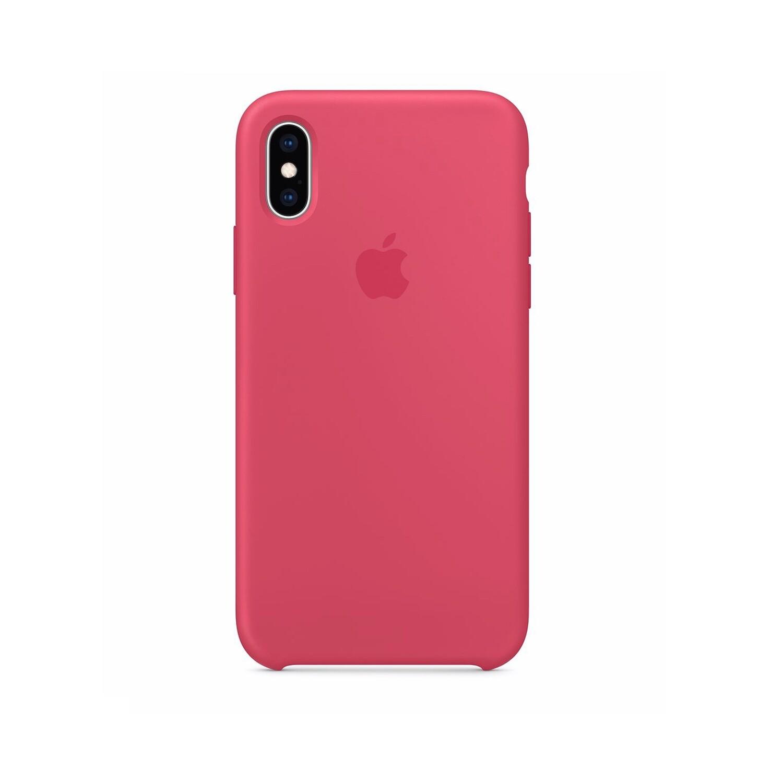 Estuche APPLE Original (Hibiscus) - IPHONE XS (5.8)