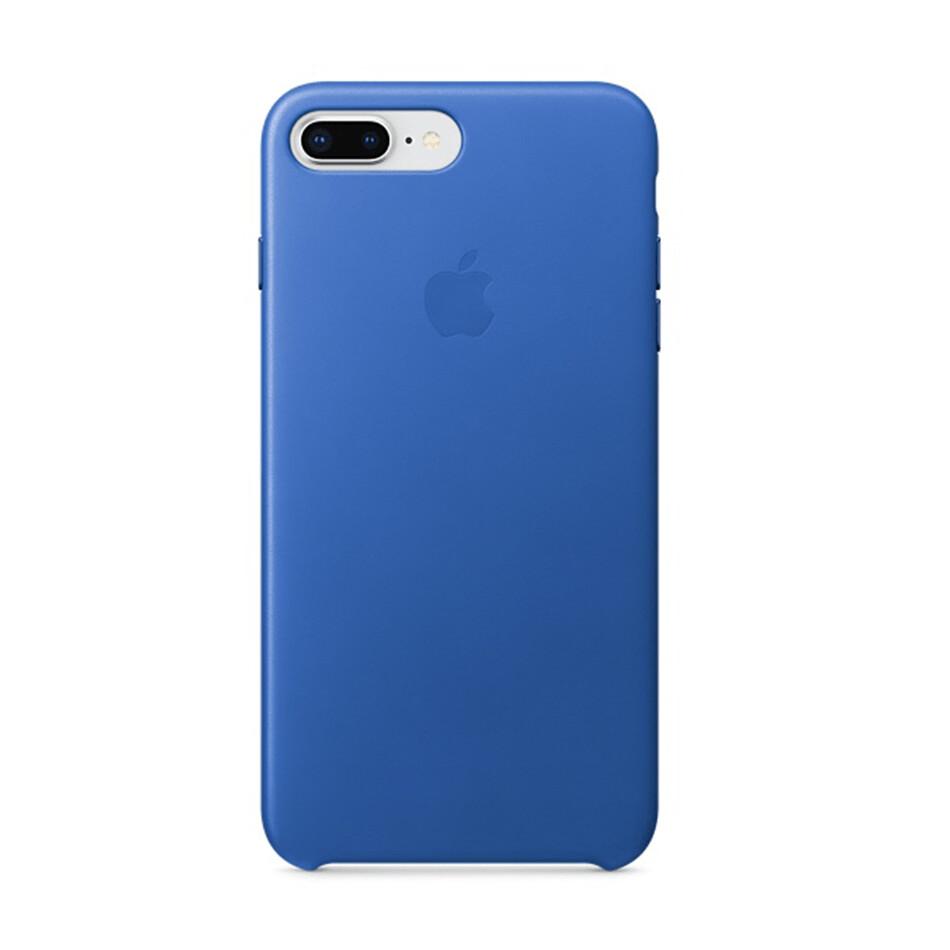 Estuche APPLE Original Cuero Azul (Electric Blue) IPHONE 7   8 PLUS