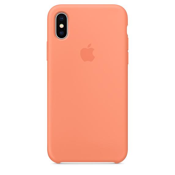 Estuche APPLE Original (Peach) IPHONE X CORAL