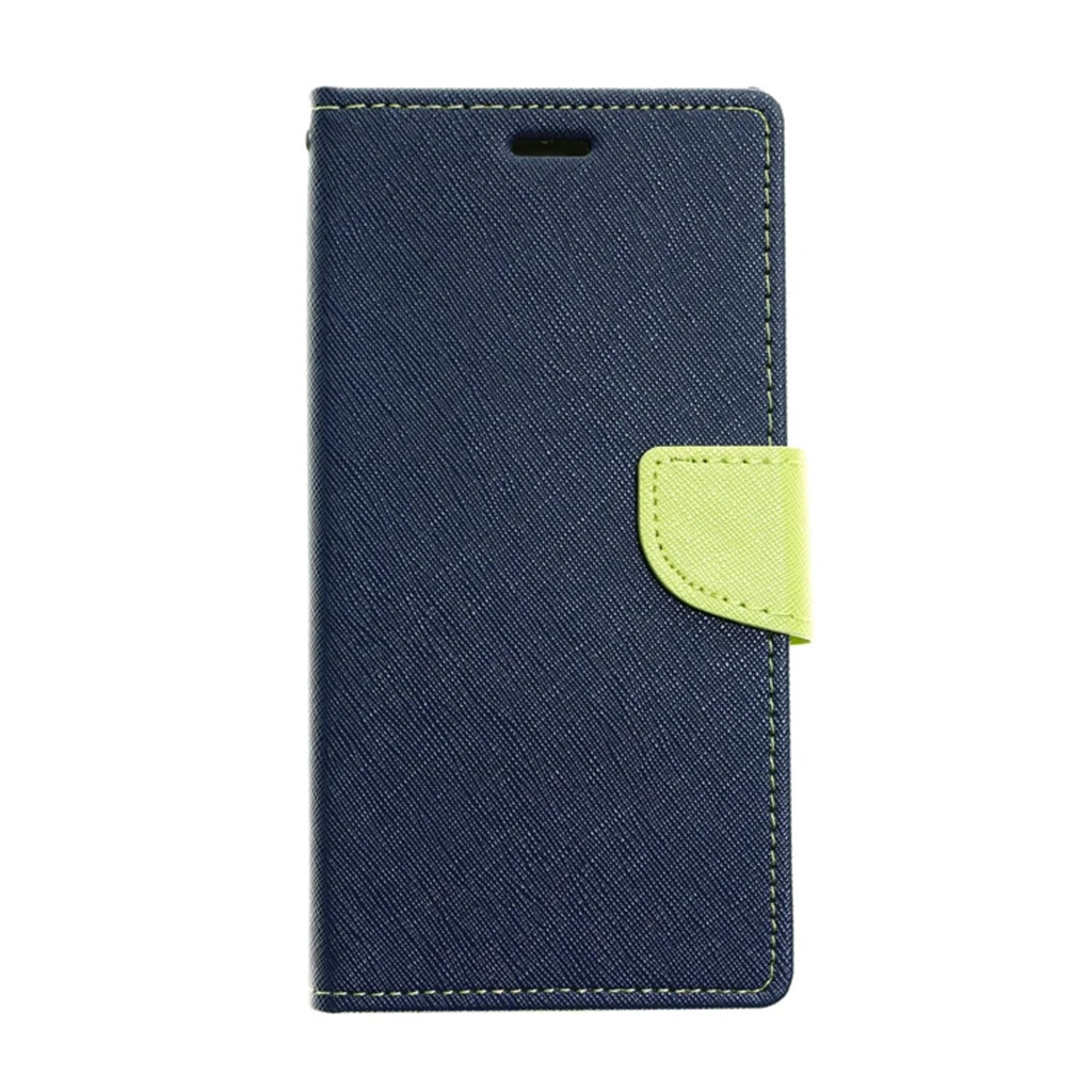 Estuche GOOSPERY Fancy Diary  Azul Marino / Verde - SAMSUNG S8 PLUS