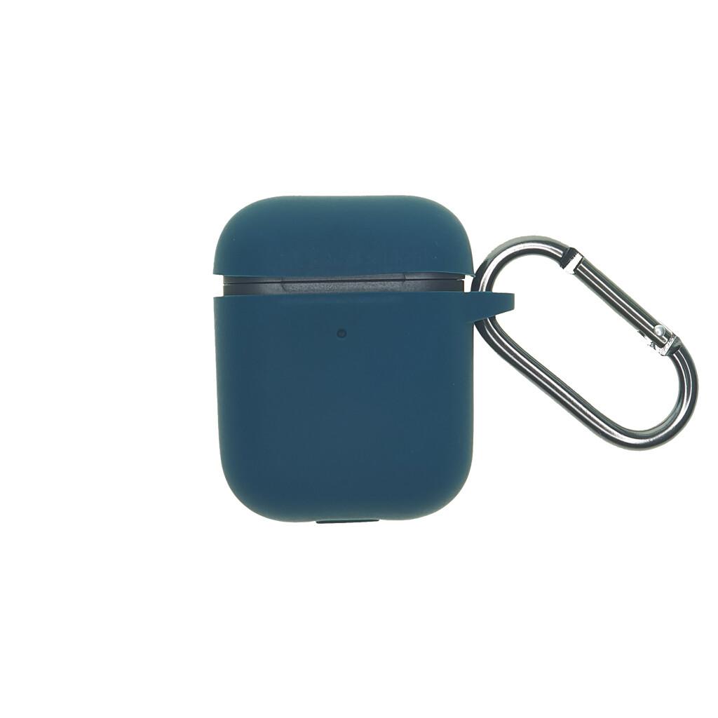 Estuche EL REY Silicon Grueso Para Airpods 1/2 Verde Musgo-