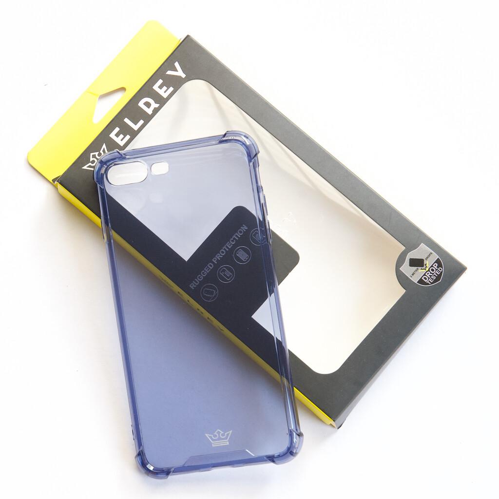Estuche EL REY Hard Case Flexible Reforzado Azul Marino Iphone 7 Plus