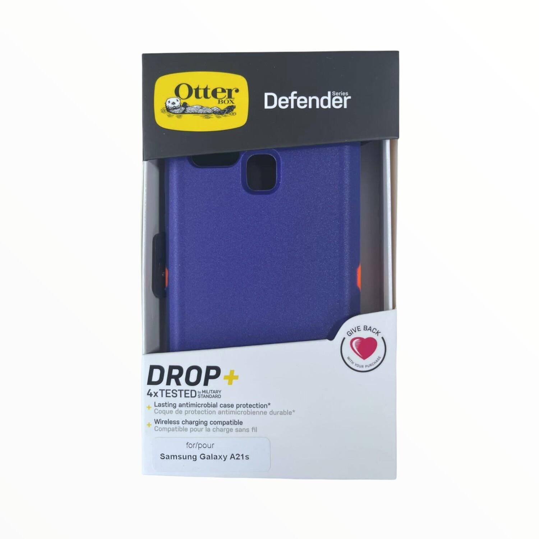 Estuche OTTERBOX Defender Azul / Naranja SAMSUNG A21S