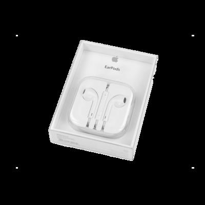 Audifonos APPLE Originales Con Empaque De Carton De Color Blancos - Jack 3.5 Mm