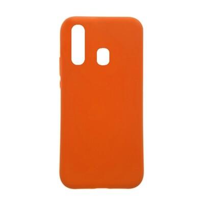 Estuche EL REY Silicon Naranja A20S