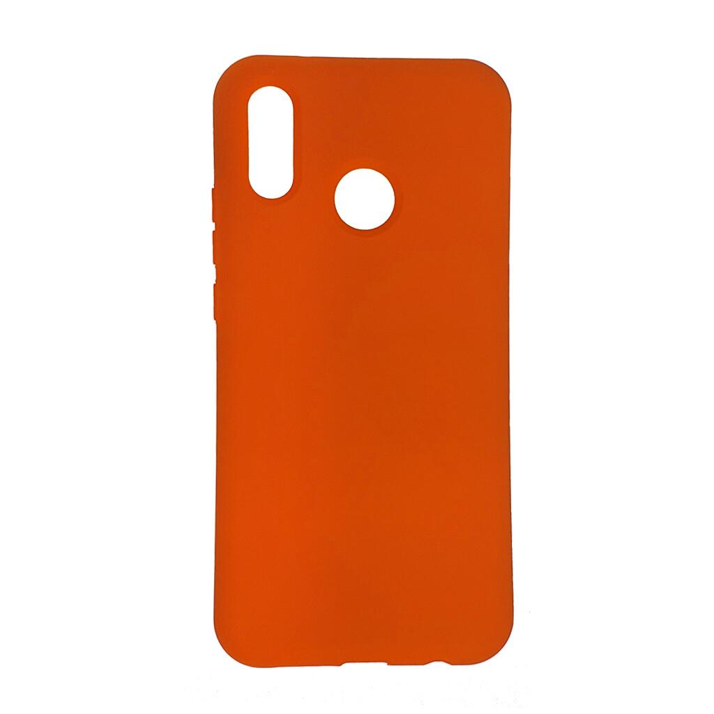 Estuche EL REY Silicon  Naranja  Huawei  P20 Lite