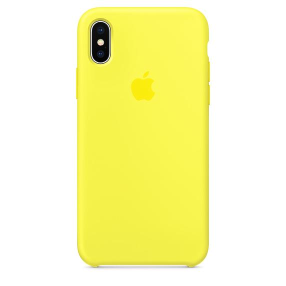 Estuche APPLE Original (Lemonade) IPHONE X AMARILLO