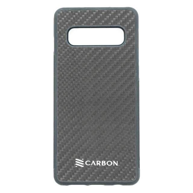 Estuche  Fibra De Carbon Real Negro - SAMSUNG S10