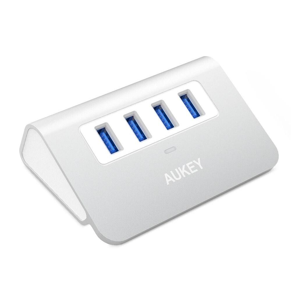 AUKEY 4-Port USB 3.0 Aluminum Hub para computadora