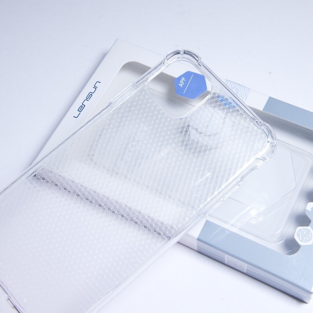 Estuche LENSUN Airbag Design Transparente - IPHONE 13 PRO MAX