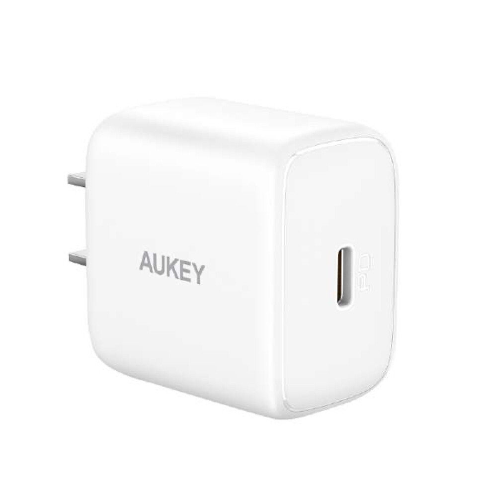 AUKEY 1-PACK Portable 20W PD Wall Charger (WH)