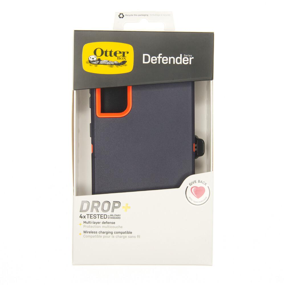 Estuche OTTERBOX Defender Azul / Naranja - SAMSUNG S21 ULTRA