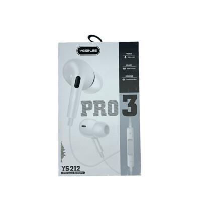 Audifonos YESPLUS Airplus earphone for Type-c / YS-212 TYP C