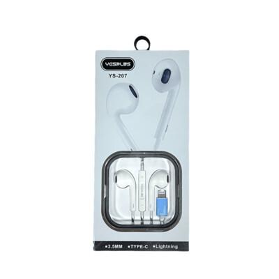 Audifonos YESPLUS In-ear headphones for lightning / YS-207