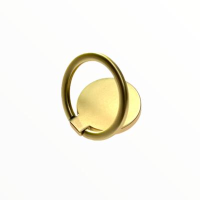 GEN Anillo De Aluminio Mate Oro