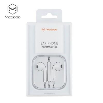 Audifonos MCDODO Audifonos Con Plug 3.5Mm  - Blancos 1.2M