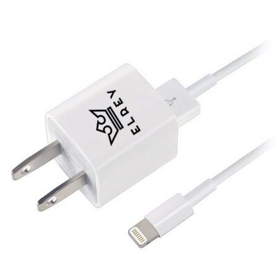 EL REY Cargador de 5w de pared + cable lightning