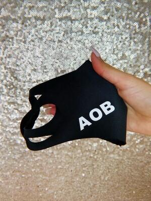 Black AOB Face Mask
