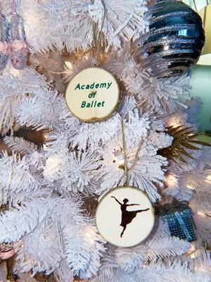 Wooden AOB Ornament