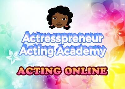 AAA: Acting Online