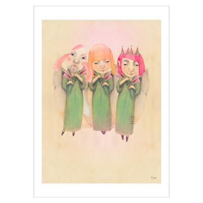 Cheeky angels