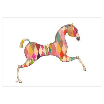 Pink horsey