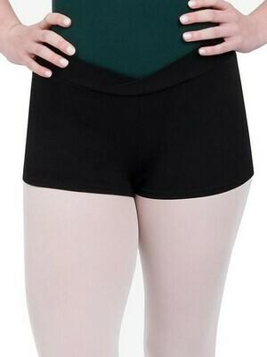 Regulation Black Dance Shorts