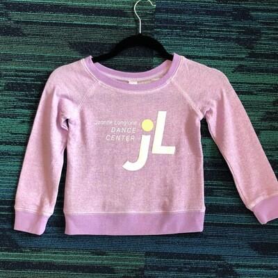 JLDC Scoop Neck Sweatshirt - Purple