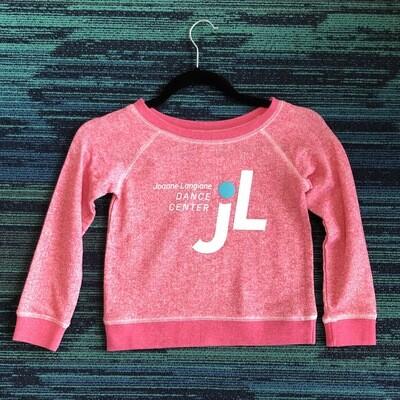 JLDC Scoop Neck Sweatshirt - Pink
