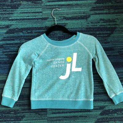 JLDC Scoop Neck Sweatshirt - Turquoise