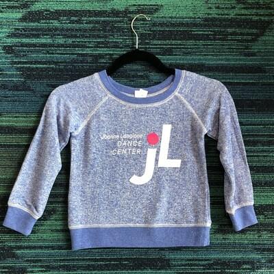 JLDC Scoop Neck Sweatshirt - Blue